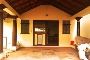 Entrance - covered verandah